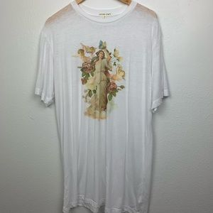 Urban Outfitters oversized angel graphic tee